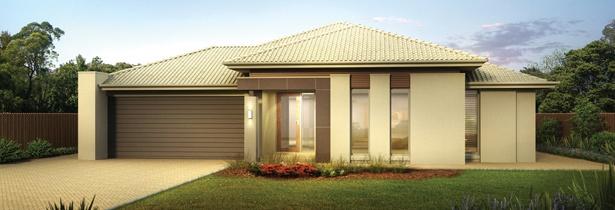 Jg king home designs the alexandra mirage facade visit for Home designs victoria