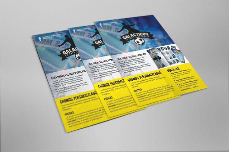 Flyer promocional de Galácticos #diseñoGalicia #galiciaDiseño #Yeti #galiciaCalidade #galicia #diseño #comunicacion #love #vedra #santiagoDC #trabajoBienHecho #imagenCorporativa #instagood #happy #swag #design #graphicDesign #amazing #bestOfTheDay #art #creatividad #creative #album #cromos #galacticos  #tuereslaestrella #union #equipo #valores #emocion
