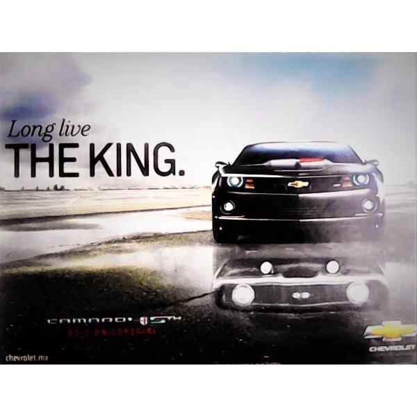 Chevrolet Camaro 2012. Anuncio Publicitario Coleccionable. $80.00 pesos.