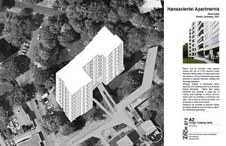 Hansaviertel Apartments (Case Study) by Alvar Aalto