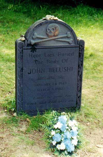 John A. Belushi (1949 - 1982)TV/Film Comic...Grave Location: Chilmark  Cemetery Chilmark  Mass.