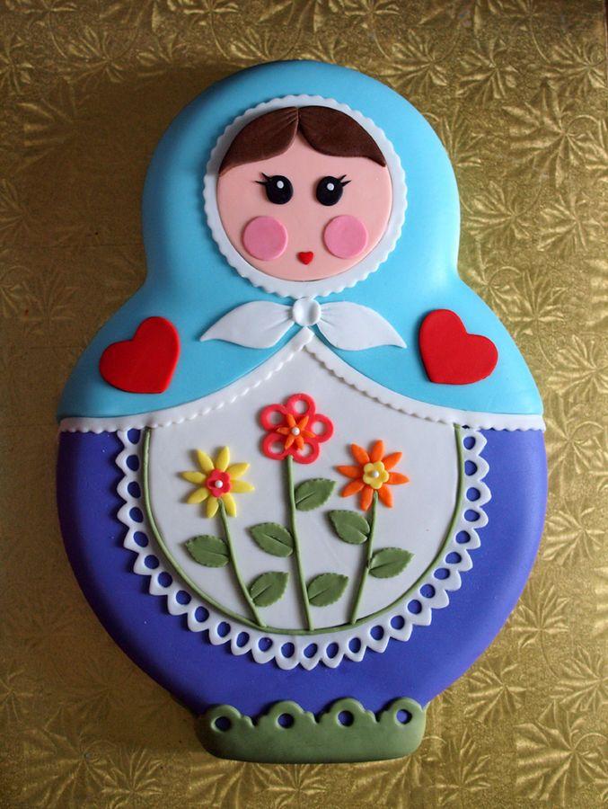 matryoshka cake!