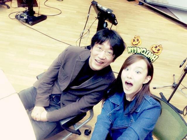 Younha! Twitter update with Kim Kwang Jin