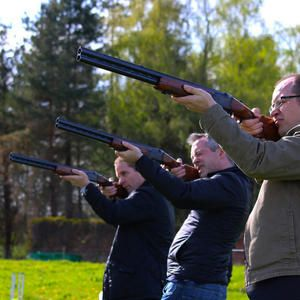 Laser clay pigeon shooting for hire. Our laser clay pigeon shooting is available around the UK.