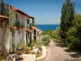 Greek Islands Holiday Villa Rental in Paxos! Glyfada Beach Villa