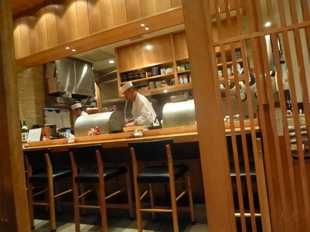 Kikutei, a very good, reasonably-priced tempura restaurant in Marunouchi
