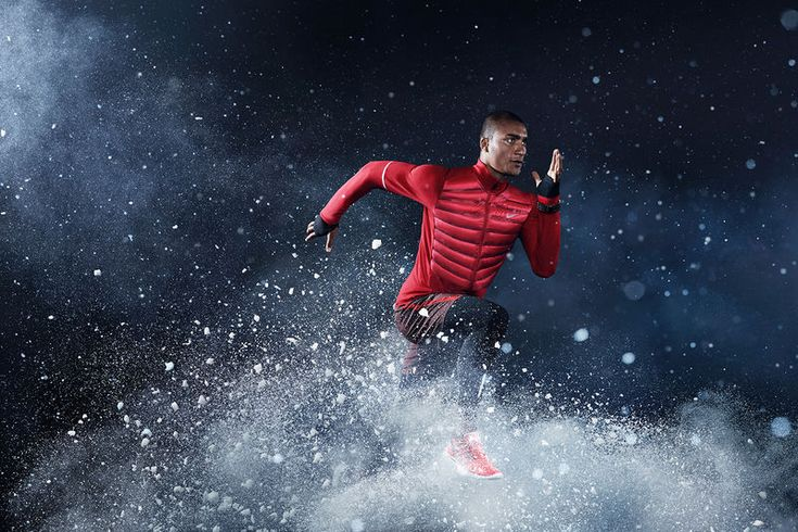 The Nike Winter Running Collection Provides Performance in the Elements #winter #jackets trendhunter.com