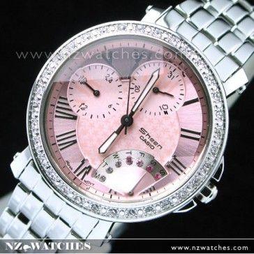 BUY Casio Sheen Inlaid star motif Series Ladies Watch SHN-3011D-4A, SHN3011D - Buy Watches Online | CASIO NZ Watches