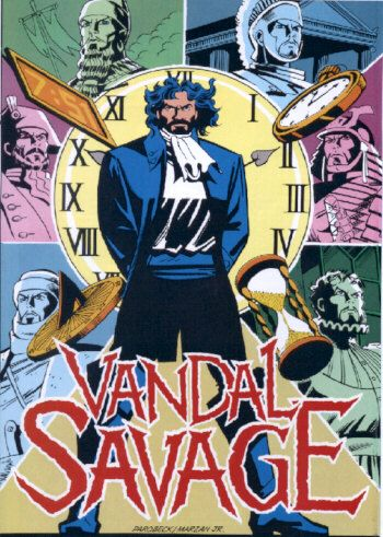 Many villains in DC Comic have wreaked havoc on the world, but few for as many years as Vandal Savage.