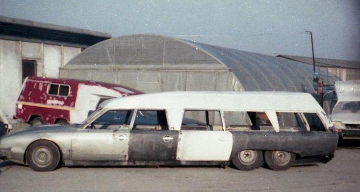 Citroën CX Tissier Roland Garros