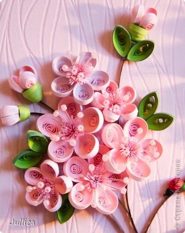 Quilling flowers quilling designs pinterest for Quilling strips designs