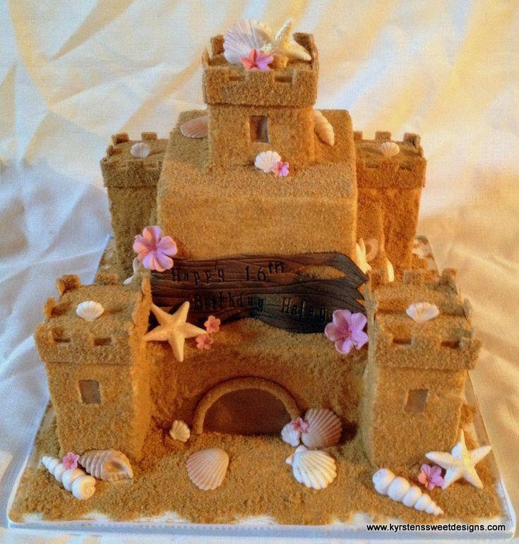 17+ Best Ideas About Sand Castle Cakes On Pinterest