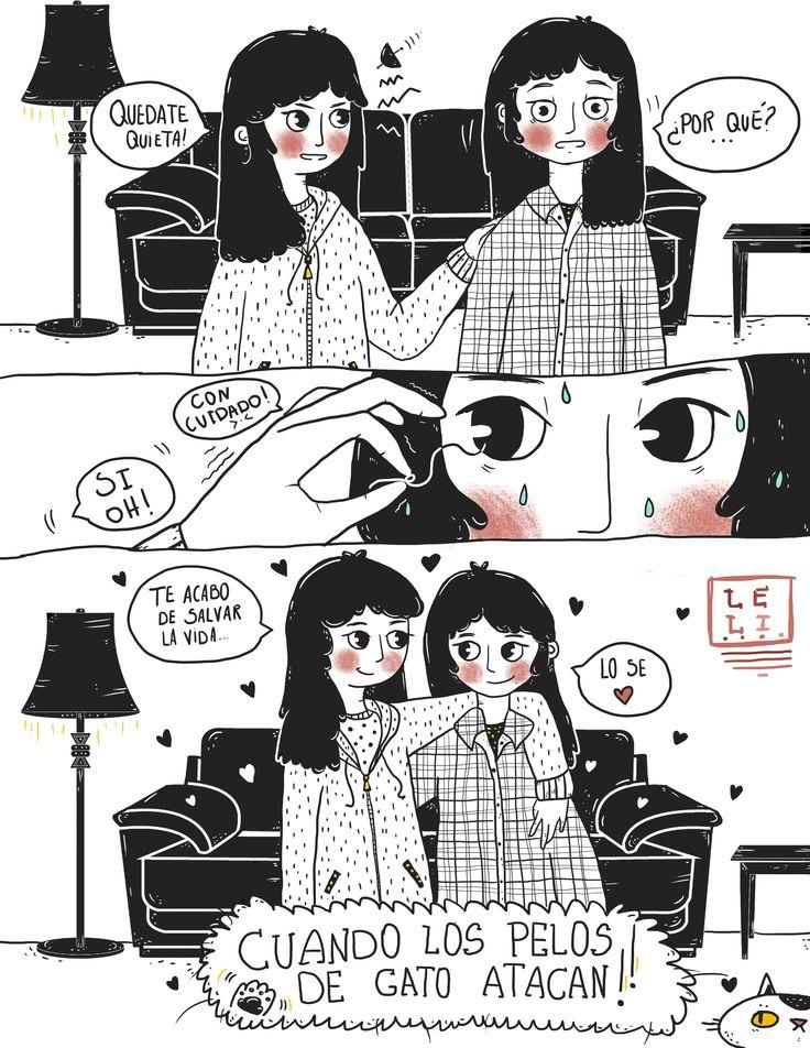 hair danger sister illustration