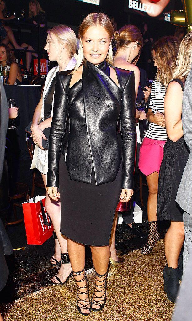 Lara Bingle x Dion Lee x Leather Love