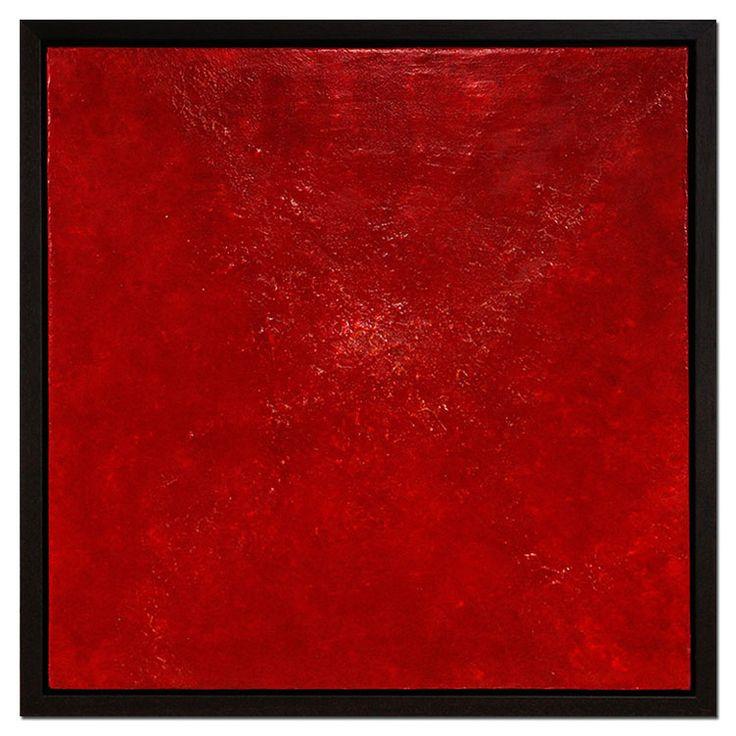"""Moderne Kunst: """"Rot in Schichten II"""" -> Sell Your own art at www.argato.de! #Artwork #kunstwerk #painting #modernekunst #malerei #galerie #artist #eventart #diekunstmacher #abstraktekunst #modernart #modernpainting #painter #abstractpainting #galleryart"""