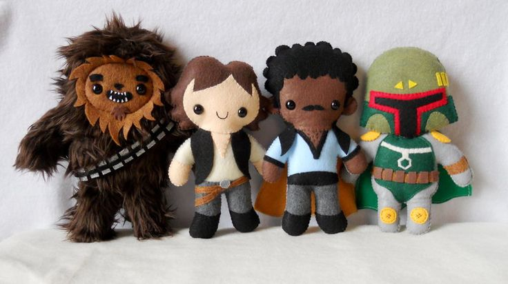 Deviantartist Misscoffee makes, what could be considered, the most adorably geeky plushies across a range of fandoms. Pictured above: Star Wars, David Tennant, Gotham Girls, Piccolo. Commissions are closed until Jan. 27 (click here for info), but you can buy from the stock at her etsy store!