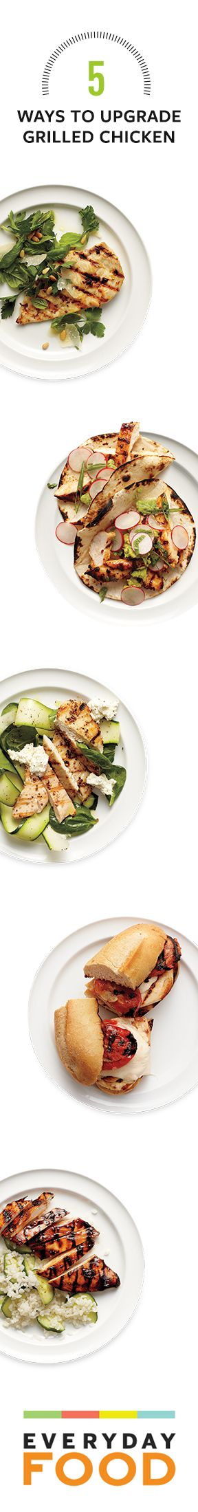 5 simple ways to upgrade grilled chicken from @Alice Cartee Cartee Food