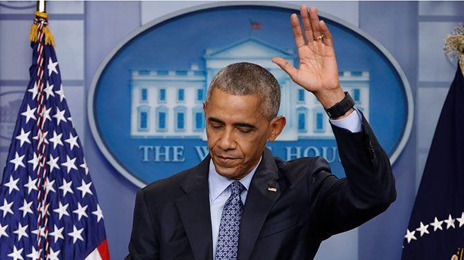Obama vertrekt met lovende woorden voor de kritische pers
