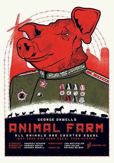 rhetoric in george orwell s animal farm 'in orwell's animal farm, squealer the propagandist porker can 'turn black  if  any orwellian unmasking of trump rhetoric begins to hurt him,.