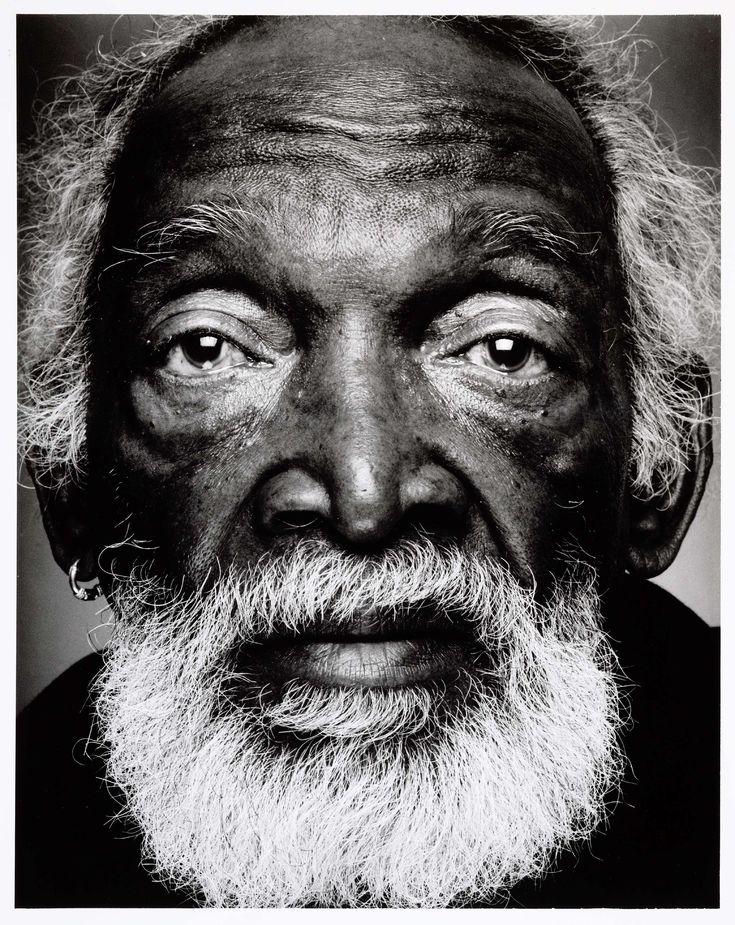 Portret van E.A. Faithfull, barkeeper - geboren te Suriname, Stephan Vanfleteren, 1999 - 2000