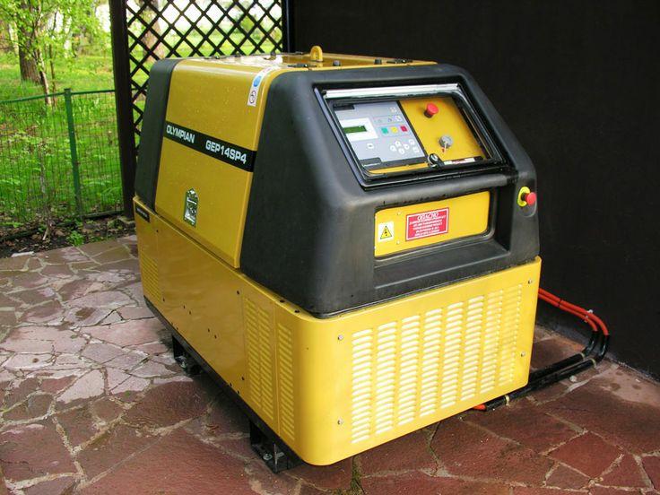 Caterpillar GEP-14. ДГУ с автоматическим запуском мощностью 18 000 VA в уличном исполнении