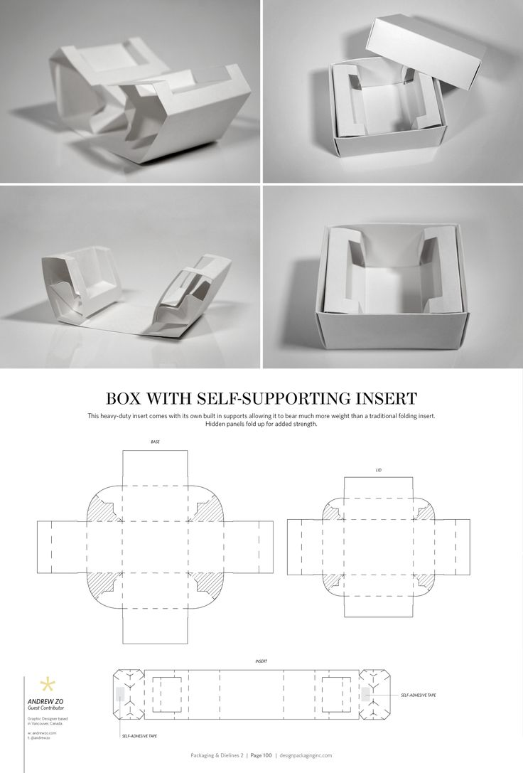 853 best Box & Pack Layout images on Pinterest | Box, Box patterns ...