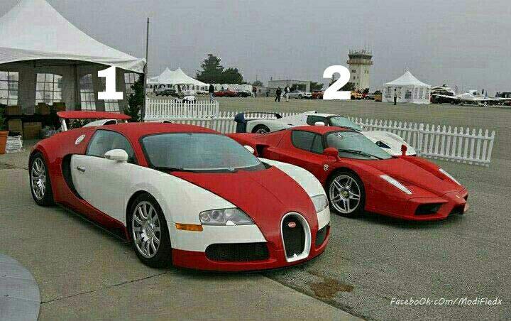 Bugatti VS Enzo Ferrari | Ferrari vs Lamborghini | Pinterest