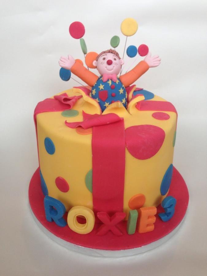 Mr Tumble burst cake - Cake by Gaynor's Cake Creations