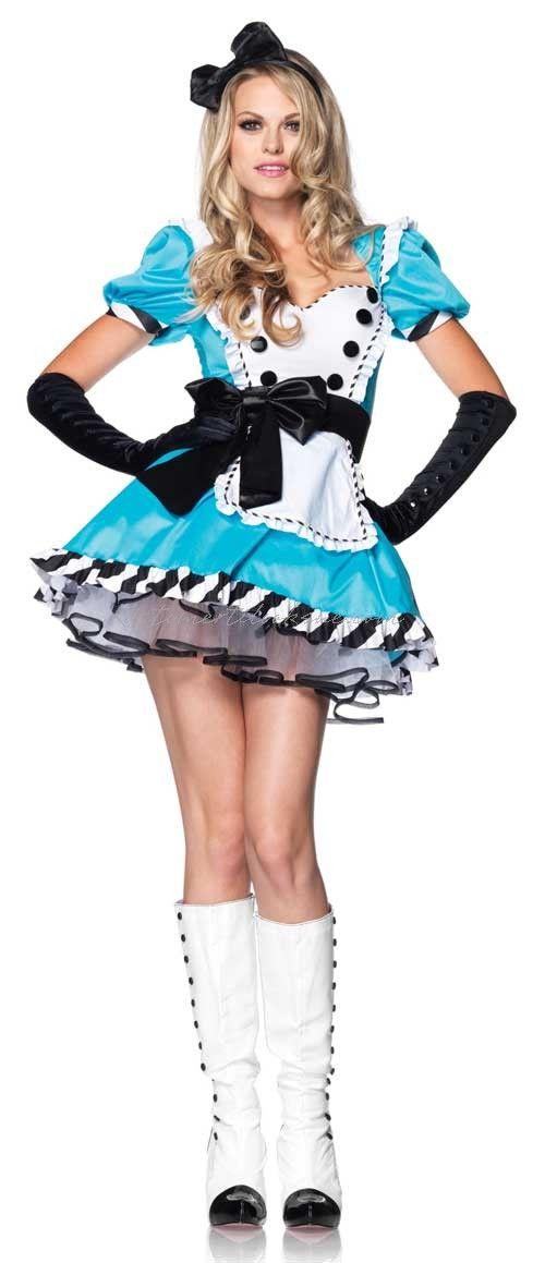 Alice i Eventyrland Gorgeous Alice Kostume