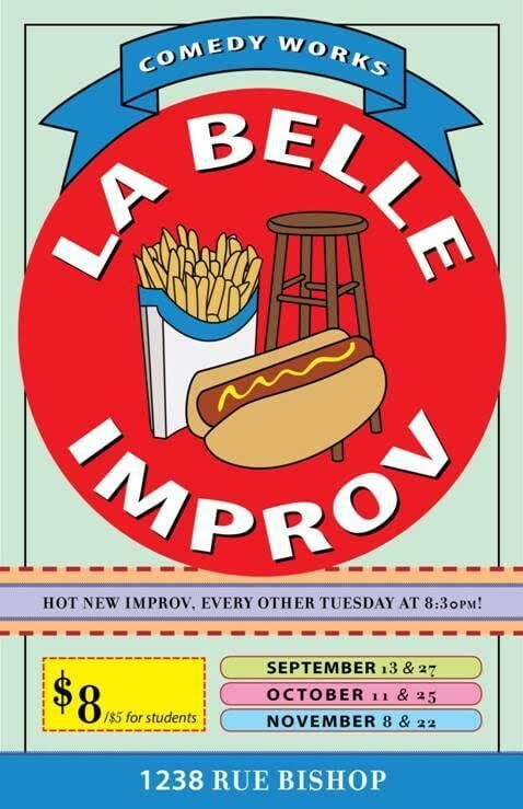 Win Tickets to La Belle Improv @ Comedyworks September 13th
