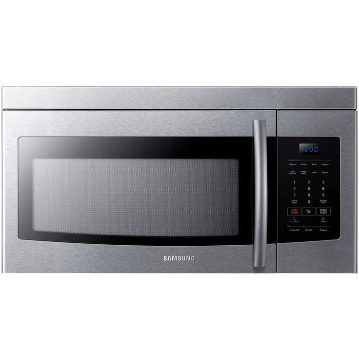 Samsung 1.6 cu. ft. Over the Range Microwave in Stainless Steel