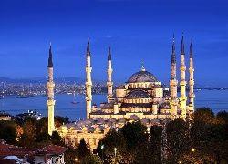 Meczet Sułtana Ahmeda,  Błękitny Meczet, Istambuł, Turcja