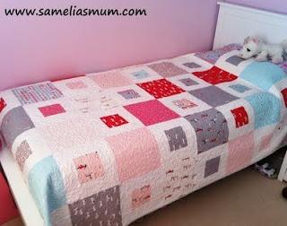 Samelia's Mum: 1 + 2 = Easy Quilt Pattern (Tutorial)