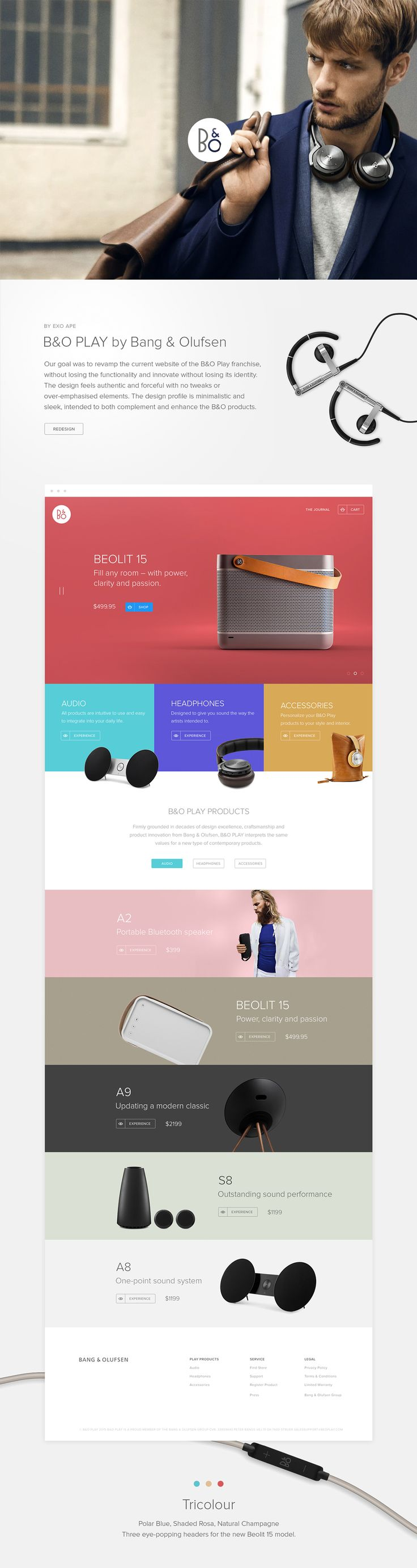 B&O Play #web #design