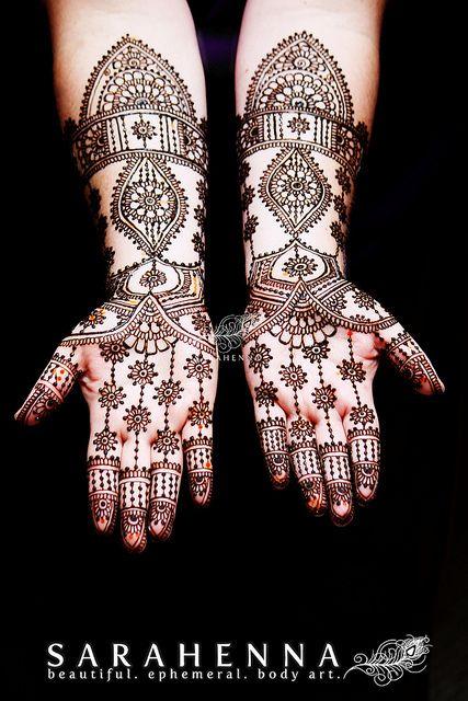 Bethany's bridal mehndi - paste on | Flickr - Photo Sharing!