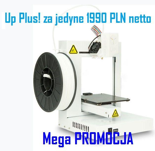 Up Plus drukarka 3D tanio