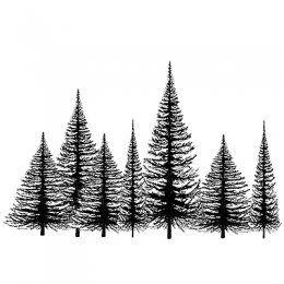Silikonové razítko Lavinia / Tree Group | Silikonová razítka | Razítka, razítkování | POLYMEROVÉ TVOŘENÍ | eShop | Polymerová hmota, kurzy fimo, eshop – Nemravka