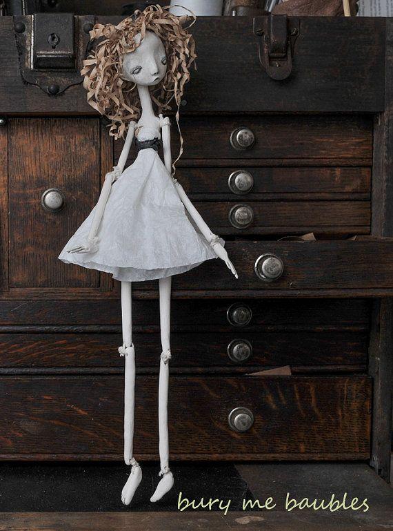 L laments Lilith OOAk handmade Art Doll by burymebaubles on Etsy, $70.00