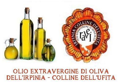 OLIO DI OLIVA EXTRAVERGINE IRPINIA – COLLINE DELL' UFITA DOP –  ha radici antiche, che fanno risalire la coltivazione dell'olivo in quest'area già ai tempi dei Romani. Citazioni della Ravece, la principale varietà di oliva utilizzata per la produzione, sono rintracciabili a partire dal XVI secolo in diversi documenti, come ad esempio nell'opera Platea Urbis et foranea del Vescovo Diomede Carafa del 1517 o in uno scritto successivo del Vescovo Donato de Laurentiis, databile al 1580.