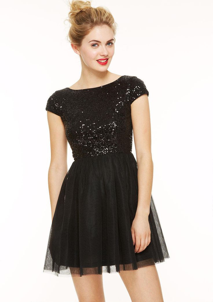 Shop Black Cap Sleeve Sequin Pleated Dress online. Sheinside offers Black Cap Sleeve Sequin Pleated Dress & more to fit your fashionable needs. Free Shipping Worldwide!