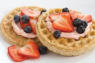 Berry Good Waffle recipe