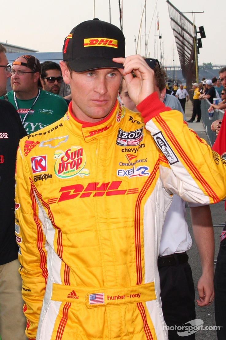 Ryan Hunter-Reay starts in Row 3 for 2013 Indy 500