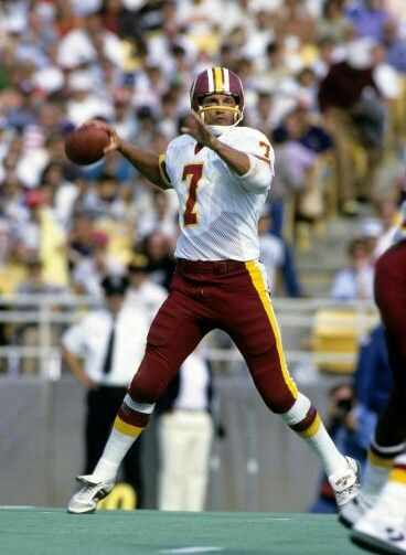 Joe Theisman #7 Washington Redskins