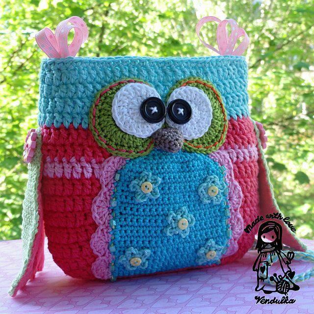 227 besten Crochet - Bags Bilder auf Pinterest   Gehäkelte taschen ...