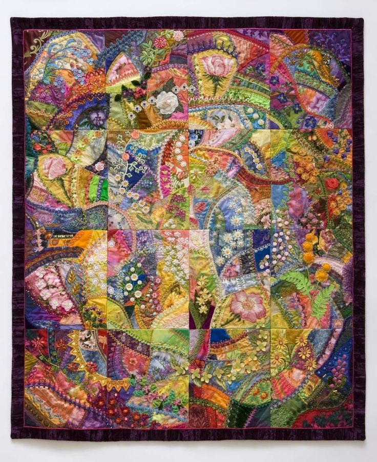 Crazy Quilting Stitches Patterns : 1000+ images about Crazy quilting on Pinterest Stitches, Quilt pillow and Crazy quilt patterns