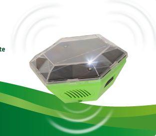 Espantapájaros electrónico solar 360 grados