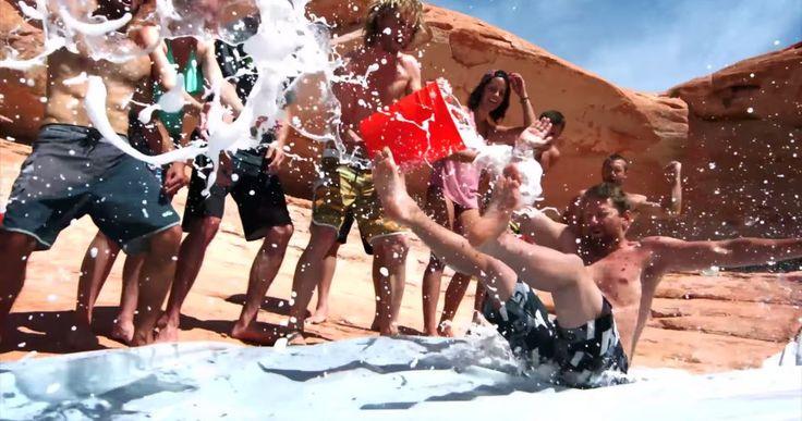¡A más de uno le gustaría hacer esto el próximo verano!: Gran vídeo grabado en 4K, en la zona sur del Lago Powell, cerca de Padre Bay en Utah, Estados Unidos.