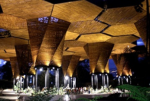El Orquideorama..Jardin Botanico, Medellin, Colombia