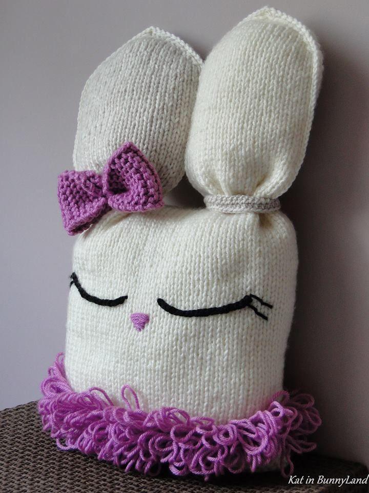 Katarzyna Grabowska Kat in BunnyLand polandhandmade.pl #toys #knitting
