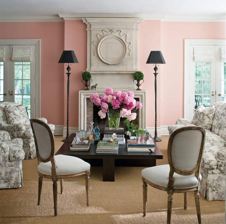 georgian pink trending paint colors color trends on interior paint color schemes id=34695